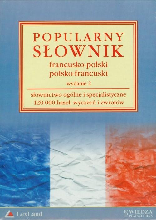 Popularny słownik francusko-polski i polsko-francuski Penazzi Jolanta, Sikora Penazzi, Sieroszewska Krystyna