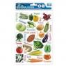 Naklejki edukacyjne warzywa