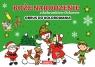 Boże Narodzenie z bałwankiem Oskarem - obrus do kolorowania (Uszkodzona Aleksandra Adamska-Rzepka, Joanna Krzemień-Przedwolska