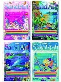 Sand Art - Sztuka malowana piaskiem (3010)