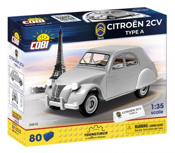 Klocki Citroen 2CV Typ A 1949 (24510)