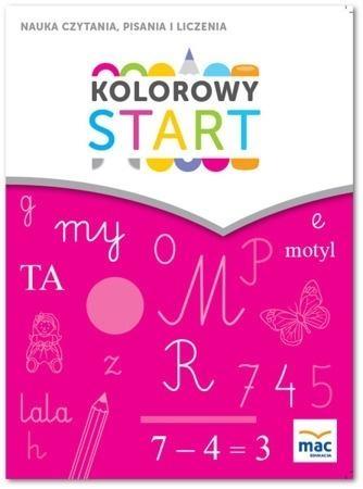 Kolorowy start. 5 i 6 latki. Nauka czytania... MAC Wiesława Żaba-Żabińska