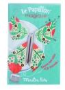 Zakładka Magiczny motyl seledynowy (711110)