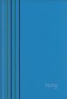 Zeszyt A5 Narcissus Arc w kratkę 80 kartek turkusowy