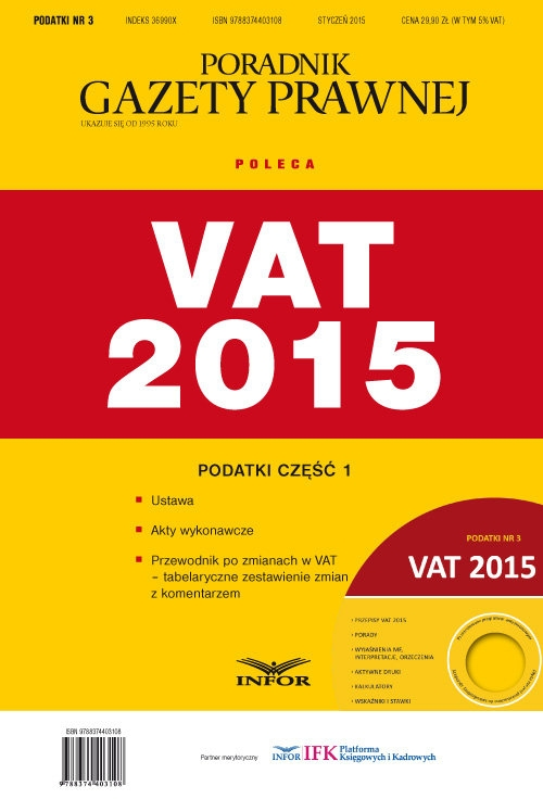 Vat 2015 + CD