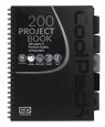 Coolpack Project Book - Kołobrulion A4 Black (94108CP)