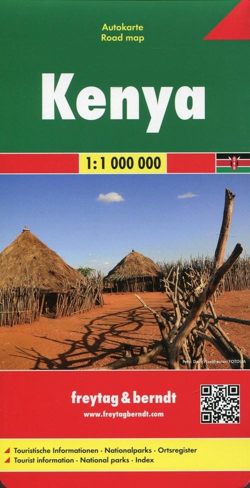 Kenia Mapa samochodowa 1:1 000 000
