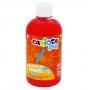 Farba Carioca baby do malowania palcami czerwona 500 ml