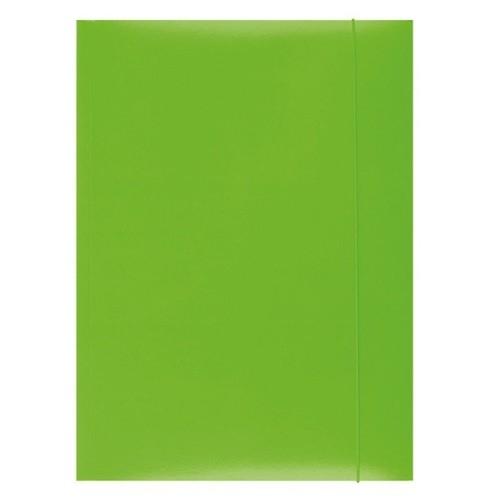 Teczka z gumką Office A4 zielona (21191131-02)