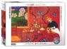 Puzzle 1000 Harmonia w kolorze czerwonym, Matisse