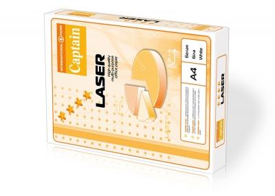Papier ksero International Paper Captain Laser A4 - biały 500k. 80 g 210 mm x 297 mm