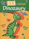 333 naklejki Dinozaury