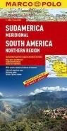 Ameryka Południowa - północ 1:4 mln  - mapa Marco Polo