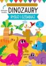 Rysuj i ozdabiaj. Szablony Dinozaury