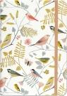 Notatnik Mini Śpiewające Ptaki w linie 160 stron