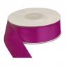 Wstażka satynowa purpurowa 25mm/25m (360537)