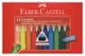 Kredki świecowe trójkątne Faber-Castell - 12 kolorów (120010 FC)