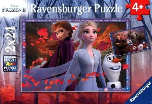 Puzzle 2w1: Kraina Lodu 2 - Mroźne przygody (5010)