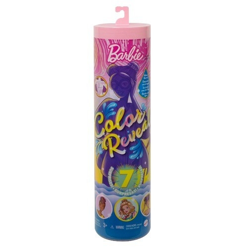 Lalka Barbie Color Reveal Wakakacyjna lalka (GTR95/GTL75)