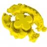 Piasek kinetyczny 1kg w woreczku żółty (KX9568_4)