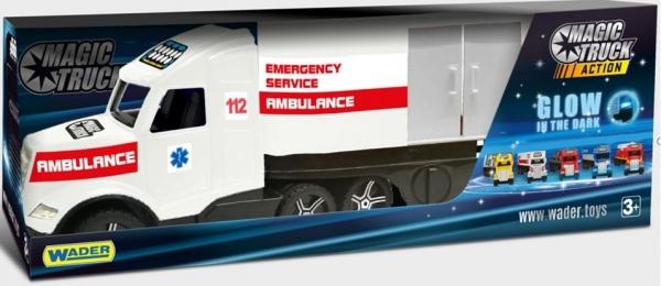 Magic Truck Action - Ambulans (36210)