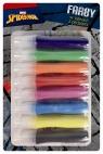 Farby w tubach z pędzlami 14ml 8 kolorów