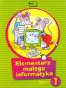 Elementarz małego informatyka 1 Podręcznik z płytą CD