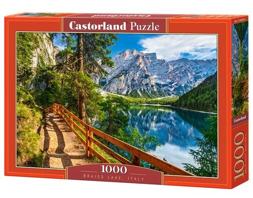 Puzzle Braies Lake, Italy 1000