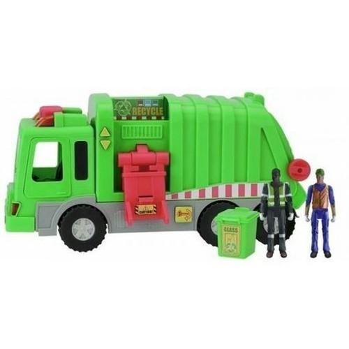 Auto śmieciarka Światło-Dźwięk