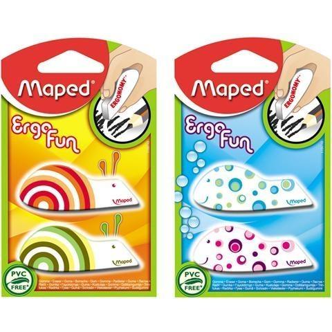 Gumki Maped Ergo Fun, 2 szt.