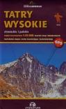 Tatry Wysokie słowackie i polskie Mapa turystyczna 1:25 000