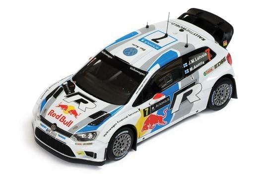 IXO Volkswagen Polo WRC #7 J-M. Latvala