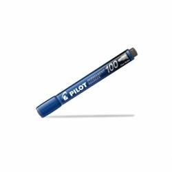Marker permanentny z szybkoschnącym tuszem Pilot SCA-100 okrągły niebieski (SCA-100-L)