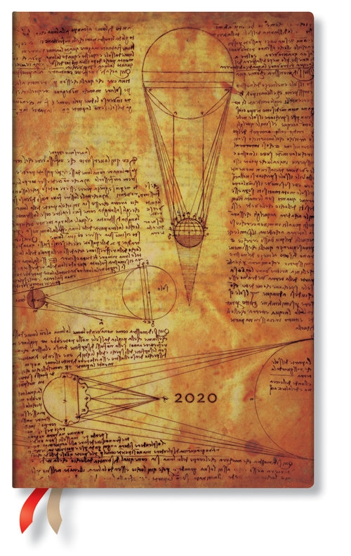 Kalendarz 2020 książkowy Maxi Horizontal Leonardo Sun & Moonlight 12m