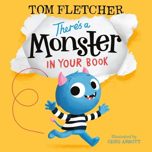 There's a Monster in Your Book Fletcher Tom