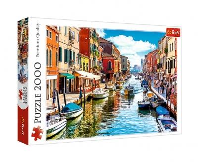 Puzzle 2000: Wyspa Murano w Wenecji