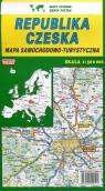 Czechy - mapa drogowa