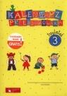 Kalendarz przedszkolaka Trzylatek Teczka