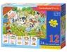 Puzzle edukacyjne Mama i dziecko (E-111)