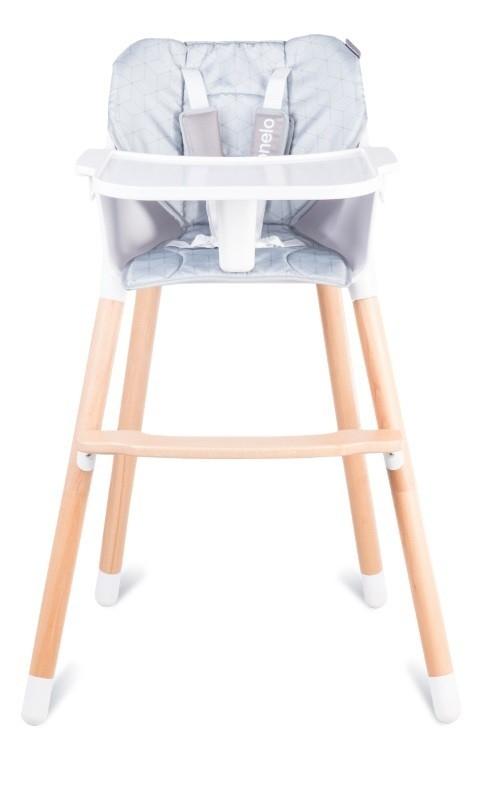 Krzesełko do karmienia Koen Szary (55004)