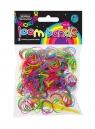 Gumki Loom Bands 300 sztuk kolory podstawowe
