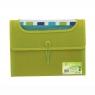 Teczka Visfile A4 z 6 przekładkami zielona