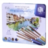 Kredki ołówkowe akwarelowe Astra Prestige, 24 kolory (450754)