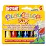Farby w sztyfcie Playcolor One 6 sztuk