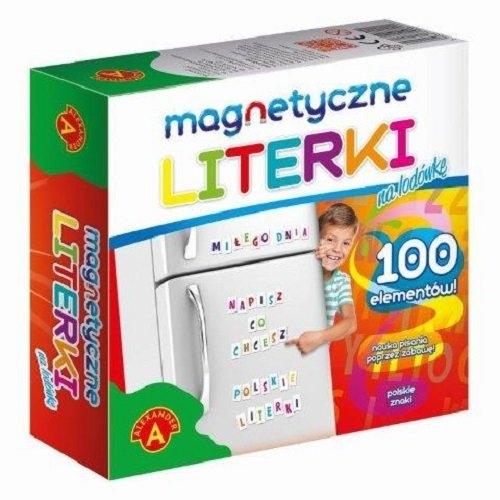 Literki magnetyczne na lodówkę (0811)