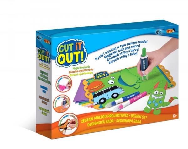 Cut it out! Magia Wycinania Zestaw Małego Projektanta (EP02611)