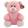 Maskotka Baby Ty Princess - różowy miś 24 cm