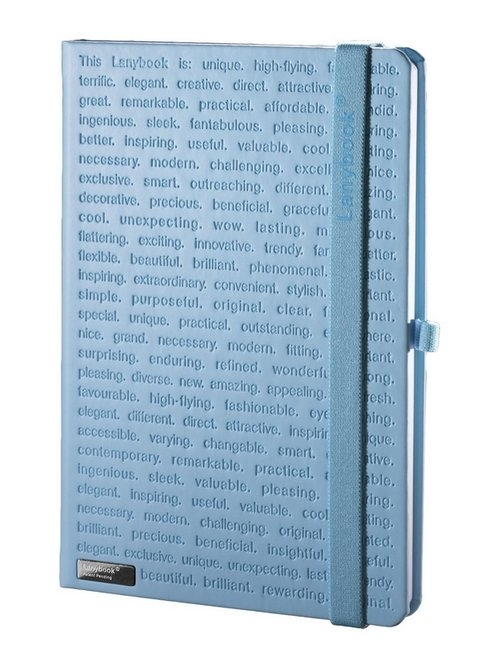 Notes A5 Lanybook The One II w linie niebieski