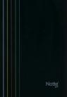 Zeszyt A5 Narcissus Arc w kratkę 80 kartek czarny
