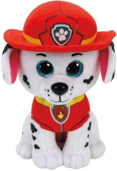Maskotka Beanie Babies Psi Patrol - Marshall 15 cm (41211)